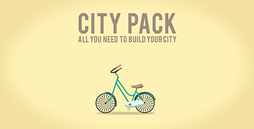 City Pack Icons - Project for After Effects (Videohive)