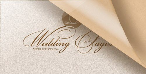 After Effects Project Videohive - Wedding Pages