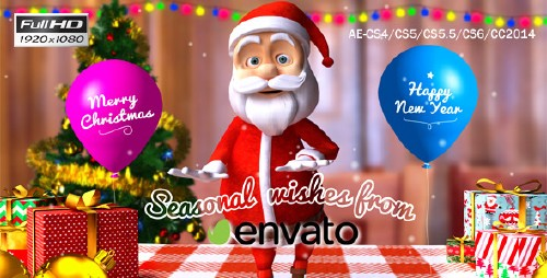 Christmas-Happy Santa - Project for After Effects (Videohive)