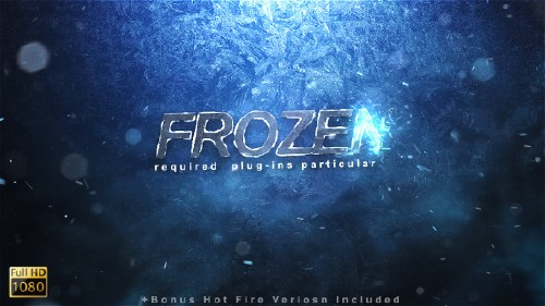 Frozen Reveal - Project for After Effects (Videohive)