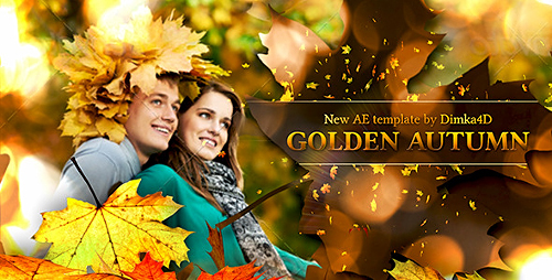 Golden Autumn - Project for After Effects (Videohive)