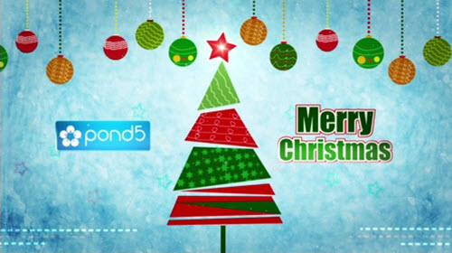 Pond5 - Christmas Greetings After Effects Project