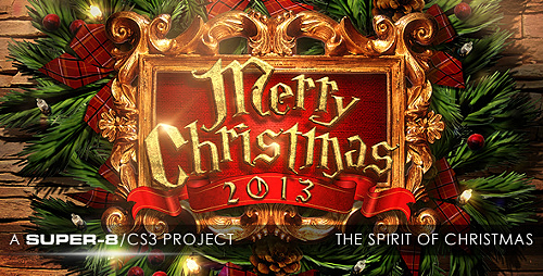 The Spirit of Christmas Greetings - Project for After Effects (Videohive)