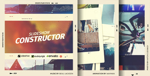Slideshow Constructor - Project for After Effects (Videohive)