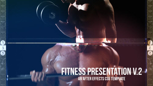 Fitness Presentation V.2 - Project for After Effects (Videohive)