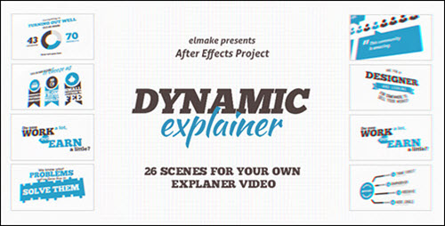 Dynamic Explainer - Project for After Effects (Videohive)