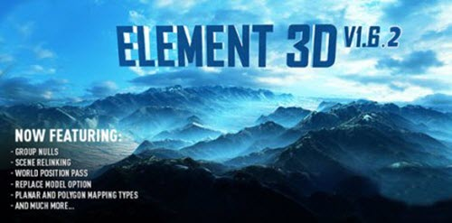 Video Copilot Element 3D v1.6.2(480) for After Effects