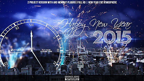 New Year Eve Countdown - Project for After Effects (Videohive)