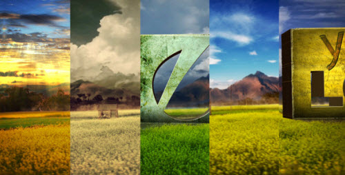 Logo In Nature Bundle - After Effect Project