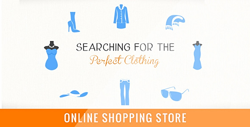 Online Shopping Store - Project for After Effects (Videohive)