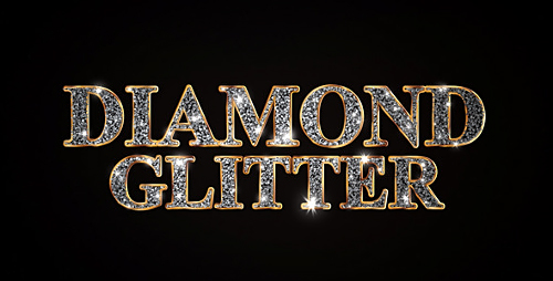 Diamond Glitter Titles - Project for After Effects (Videohive)