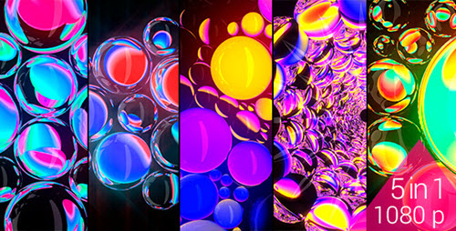 Refracting Spheres - VJ Pack (120bpm) - Videohive