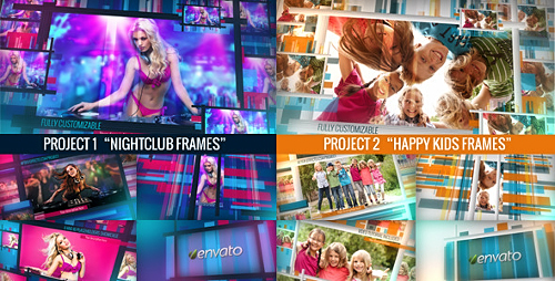 Chameleon Frames Photo Galleries - Project for After Effects (Videohive)