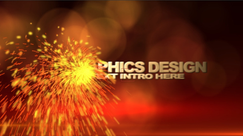Sparks Transformation Intro FX - Project for After Effects (REVOSTOCK)