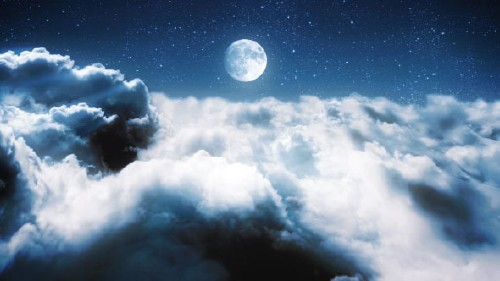 Clouds in a Night Sky - Project for After Effects (Videohive)