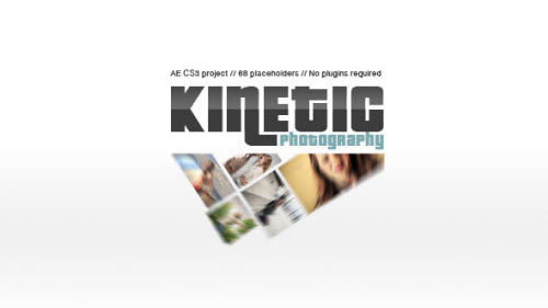 Kinetic Photography - Project for After Effects (Videohive)