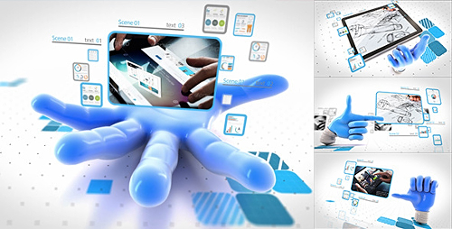 Catch your network - Project for After Effects (Videohive)