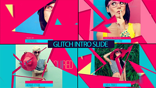 Glitch Intro Slide - Project for After Effects (Videohive)