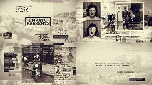 History in Photographs - Project for After Effects (Videohive)