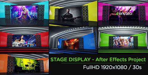 Stage Display - Project for After Effects (Videohive)
