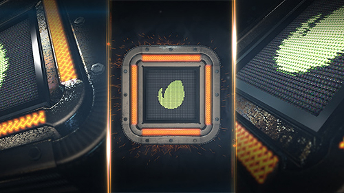 Square Tech Logo - Project for After Effects (Videohive)