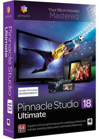 Pinnacle Studio Ultimate 18.1.0.602 + Content + Bonus Content (2015/RUS/ML)