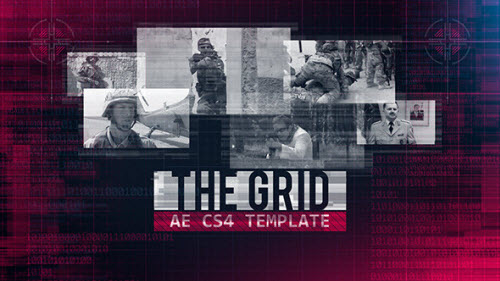 The Grid - Project for After Effects (Videohive)