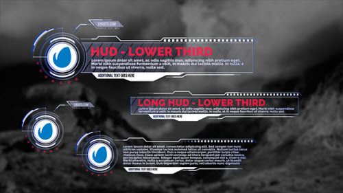 HUD - Lower Thirds - Project for After Effects (Videohive)