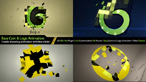 Elegant Logo Formation Intro Generator - Project for After Effects (Videohive)