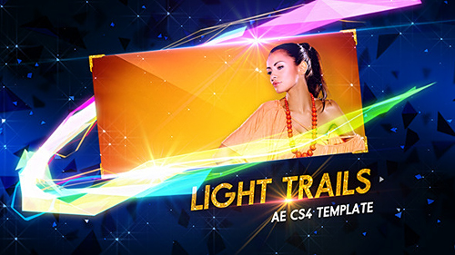 Light Trails - Project for After Effects (Videohive)