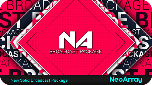 New Solid Broadcast Package - Project for After Effects (Videohive)