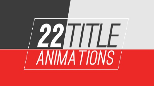 25 Title Animations - Project for After Effects (Videohive)