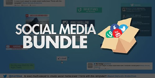 Social Media Bundle - Project for After Effects (Videohive)