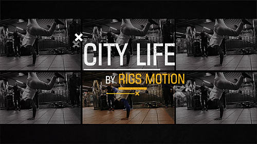 City Life // Dynamic Opener - Project for After Effects (Videohive)