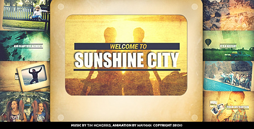 Sunshine City - Project for After Effects (Videohive)