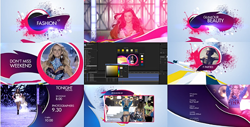 Retro Fashion Package - Project for After Effects (Videohive)
