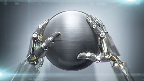 Robotic Hands - Project for After Effects (Videohive)