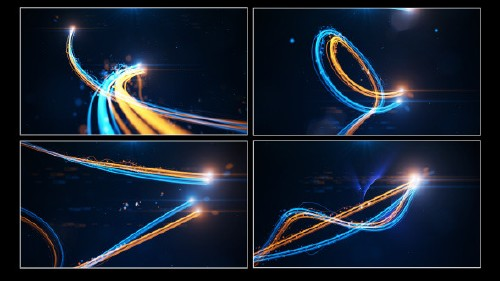 Streak Light Reveal - Project for After Effects (Videohive)