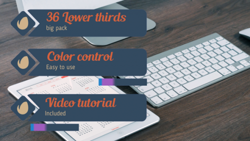 36 Lower Thirds Pack - Project for After Effects (Videohive)
