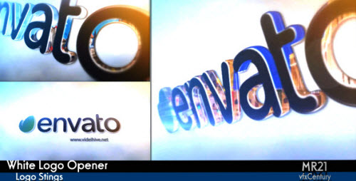 White Logo Opener - Project for After Effects (Videohive)