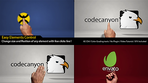 Classic Hands Logo Reveal Intro - Project for After Effects (Videohive)