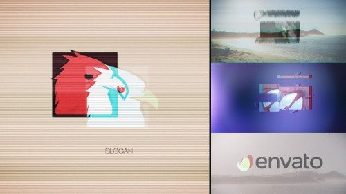 Quick Glitch Logo Pack - Project for After Effects (Videohive)