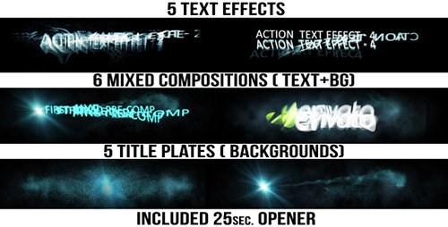 Action Titles - Project for After Effects (Videohive)