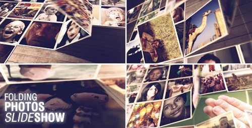 Folding Photos Slideshow - Project for After Effects (Videohive)