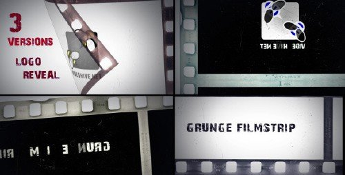 Grunge Filmstrip - Project for After Effects (Videohive)