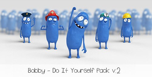 Bobby - Character Animation DIY Pack - Project for After Effects (Videohive)