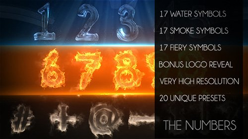 The Numbers - Project for After Effects (Videohive)