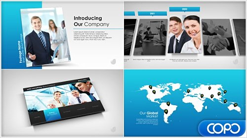 Simple Company Presentation - Project for After Effects (Videohive)