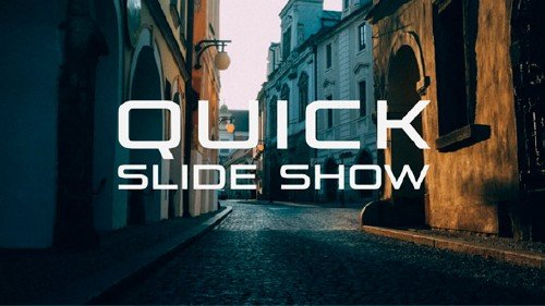 Quick Slide Show - Project for After Effects (Videohive)