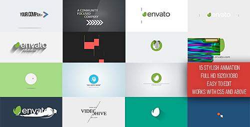 Short Logo Reveal Pack - Project for After Effects (Videohive)